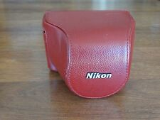 Nikon Hard Leather Case For Camera...Flawless