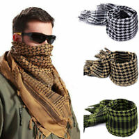 Tactical Desert Army Scarf Square Shawl Shemagh KeffIyeh Arafat Arab Neck Wrap