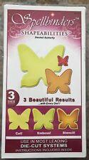 Spellbinders Nested Butterfly Shapeabilities Dies (Gently Used)