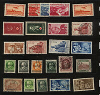 Saar  nice  lot  of  mint  and used  stamps             MS0219