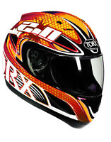 casque casco helmet intégral TORX BILLY ORANGE XS