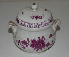 Höchst - Sucrier en porcelaine allemande, modèle Residenz