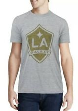 Adidas LA Galaxy Gray Fabrication Ultimate Performance Shirt Mens - Size Large