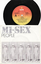 MI-SEX - PEOPLE  Very rare 1980 Aussie NEW WAVE P/S Single Release!