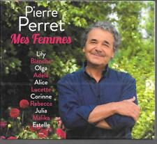 2 CD ALBUM DIGIPACK 40 TITRES--PIERRE PERRET--MES FEMMES--2015--NEUF