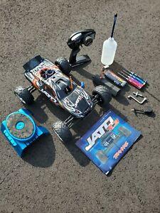 Traxxas Jato Slighty Used 3.3 Nitro/RTR/Upgrades + Accessories