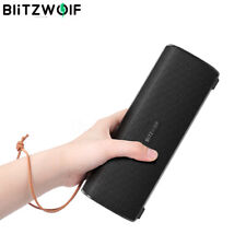 BlitzWolf BW-WA2 bluetooth Wireless Speaker TWS BASS Portable Stereo W/ Mic !