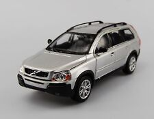 WELLY VOLVO XC90 SILVER 1:24 DIE CAST METAL MODEL NEW IN BOX 19cm LONG
