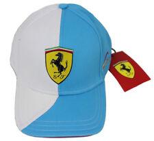 Ferrari Basecap 826761 02, Alonso, Brandon Cap cyan blue-white Casquette Gorra New