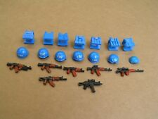 UN Military Armor Guns Weapons Pack Compatible Lego Set Custom for Minifigures