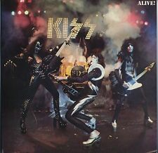 Kiss - Alive! JAPAN 2LP with INSERTS