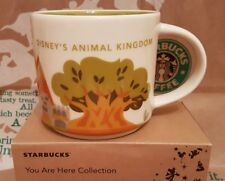 Starbucks coffee Mug/taza vaso/Disney's animal kingdom Yah, nuevo/en el embalaje original I. box!!!