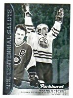 2016-17 UD Parkhurst CENTENNIAL SALUTE WAYNE GRETZKY Canada Retail Only Oilers