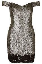 Topshop Polyester Halter Neck Dresses Mini