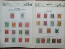 ESTATE SALE: KGV Collection on pages to 1'4  great mix   -  FREE POST (7912