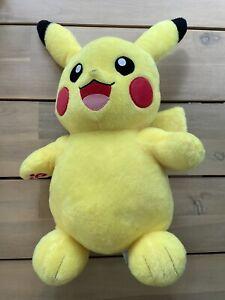 "PIKACHU Build A Bear Workshop Pokemon 18"" Plush Stuffed Toy Nintendo 2016"