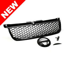 RS Style Hex Mesh Grille for MK4 99-05 VW Jetta Bora w/ Badge Holder