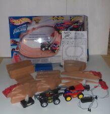 Hot Wheels Batman Vs Superman Monster Jam Truck Series Slot Car Racing Set