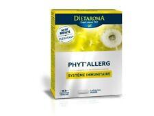 ♡♡ DIETAROMA ♡♡ Phyt'allerg - 40 gélules - Système Immunitaire  - Plerasan