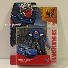 Transformers HOT SHOT Generations Deluxe FREE SHIP 4 Age of Extinction CORVETTE