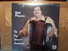 FACTORY SEALED HG LP RECORD/JEFF WINARD/WITH PLEASURE/BUTTON BOX POLKA