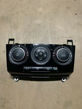 MAZDA 3 HEATER/AC CONTROLS BK, SP23, GLOSS BLACK FACE 06/06 06/09