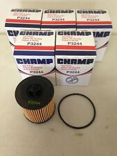 FIVE(5) Champ P3244 Oil Filter CASE fits CH9018 PF2244G PF457G 57082 LF548 V5436