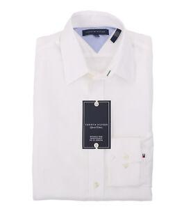 Tommy Hilfiger Herren Langarm Button-Down Shirt - $0 Free Ship