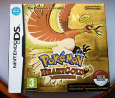 Nintendo Pokemon HEART GOLD DS Great condition walker clip complete heartgold