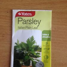 3 X YATES PARSLEY SEEDS (BNISP) - ITALIAN PLAIN LEAF