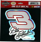 NASCAR ~ DRIVERS SELECT ~ STICKER ~ DALE EARNHARDT #3 ~ DIE-CUT FOIL DECAL
