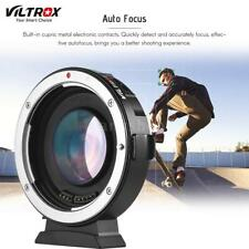 Viltrox EF-M2 AF Lens Mount Adapter 0.71X for Canon EOS to MTF M4/3 Camera Lens