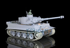 US Stock Fast Free HengLong 1/16 German Tiger I Upgraded Metal RTR RC Tank 3818