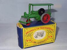 (W) lesney matchbox YESTERYEAR MOY - AVELING & PORTER STEAM ROLLER - 11
