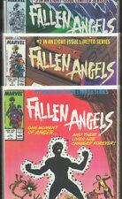 FALLEN ANGELS 1, 2, 3  High Grade!  Stunning Condition!  X-Men!  Sunspot!  1987