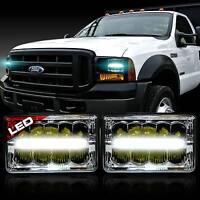 For Ford F250 F350 F450 F550 Super Duty LED Headlight Sealed Beam Headlamp