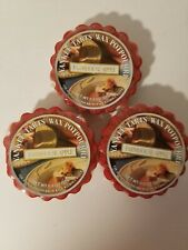 Yankee Candle Farmhouse Apple Wax Tarts Lot Of 3 - NEW