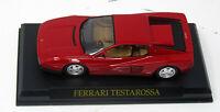 Modell  1:43 Ferrari Testarossa rot  Atlas