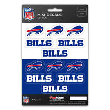 New NFL Buffalo Bills Die-Cut Premium Vinyl Mini Decal / Sticker Pack
