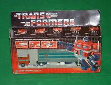 Vintage G1 Transformers CAMION Optimus Prime Original 1984 question Coffret