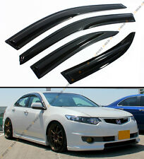 2009-14 ACURA TSX 4 DOOR SEDAN CU2 MUGEN STYLE SMOKE WINDOW SUN RAIN GUARD VISOR