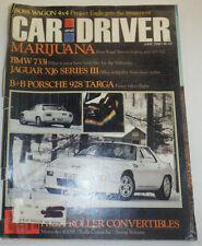 Car And Driver Magazine BMW 733i Jaguar XJ6 June 1980 123014R2