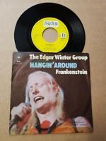 """The Edgar Winter Group-Hangin' Aroun-Vinyl,7"""",45 RPM,Single-Sammlung Rock D 1973"""
