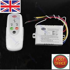 New 3 Ways ON/OFF 220V-240V Light Digital Wireless Wall Switch + Remote Control