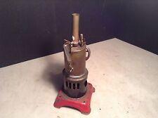 Circa 1900 Antique Fleischmann Vertical Toy Steam Engine