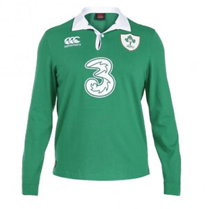 Authentic Ireland Men's Classic Long Sleeve Rugby Jersey