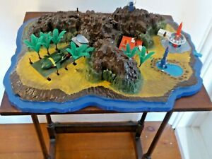 Vintage Tracy Island Thunderbirds  Playset Diorama