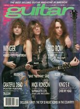 1990 April Guitar For The Practicing Musician - Vintage Magazine