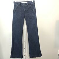 Anthropologie Jeans Size 4 Daughters Of The Liberation Wide Leg Trouser