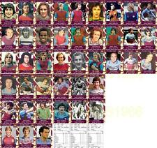 West Ham United 1970's vintage style Football Trading cards - Debuts Collection